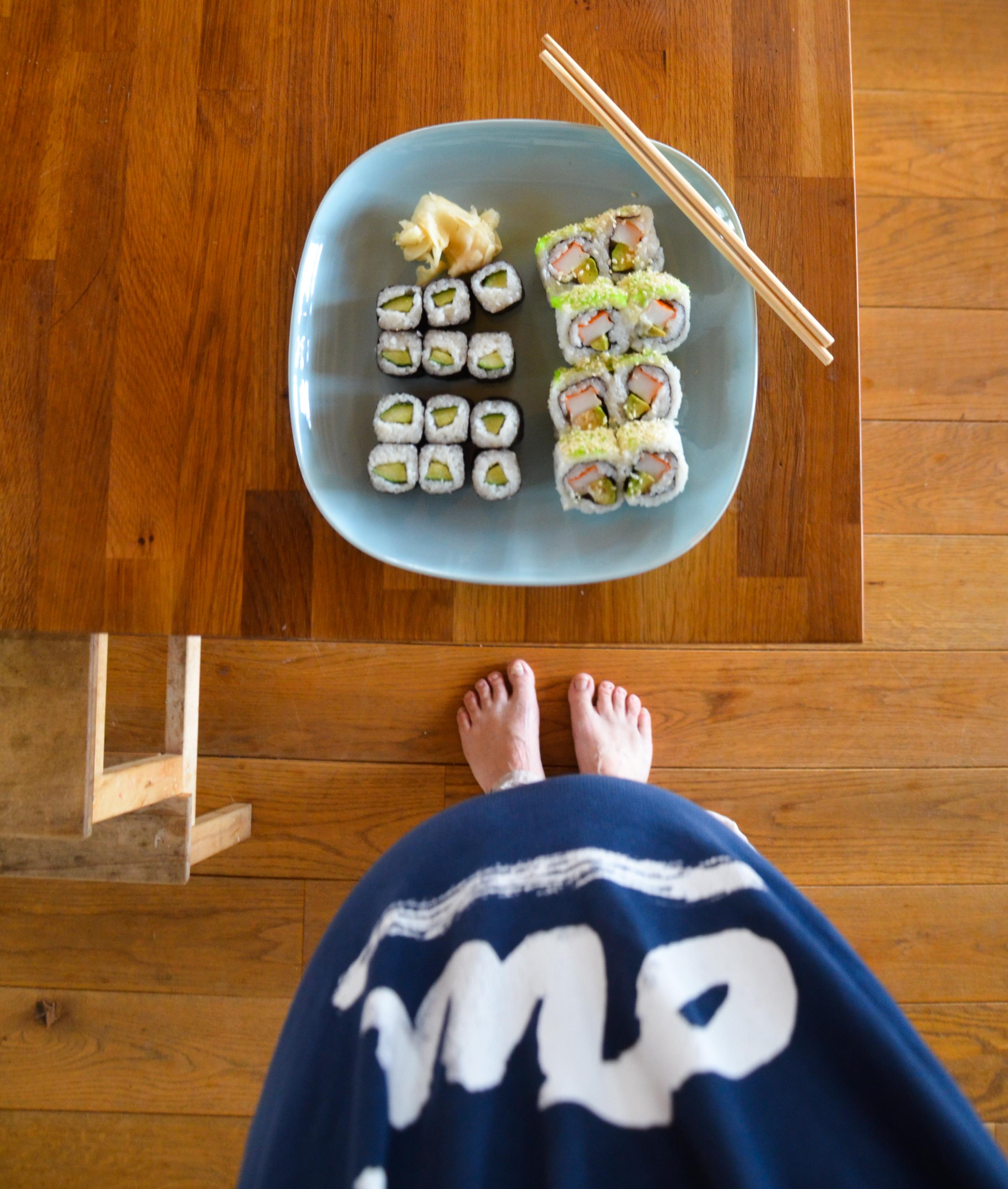 Schwangerschaft, was ist erlaubt, Sushi in der Schwangerschaft