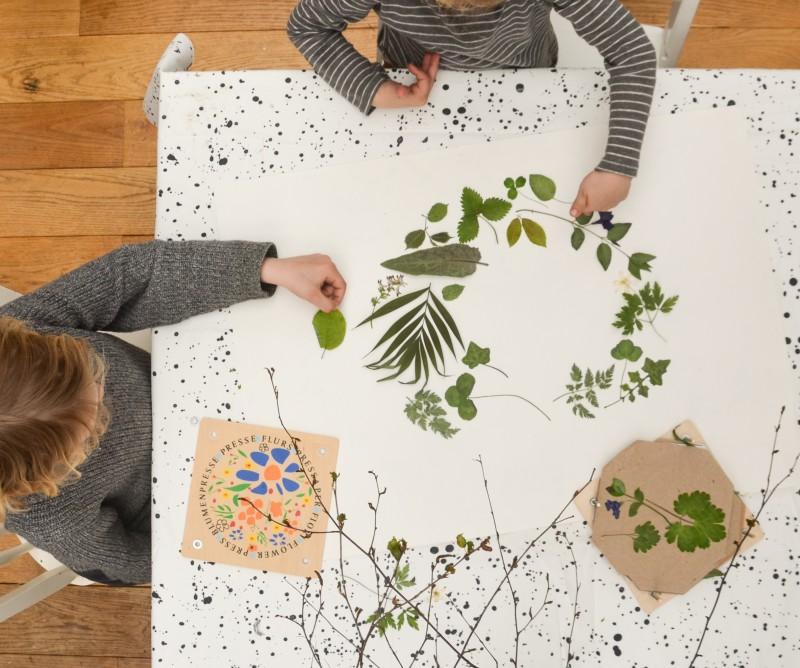 Blätterbild, Blätterkunst,