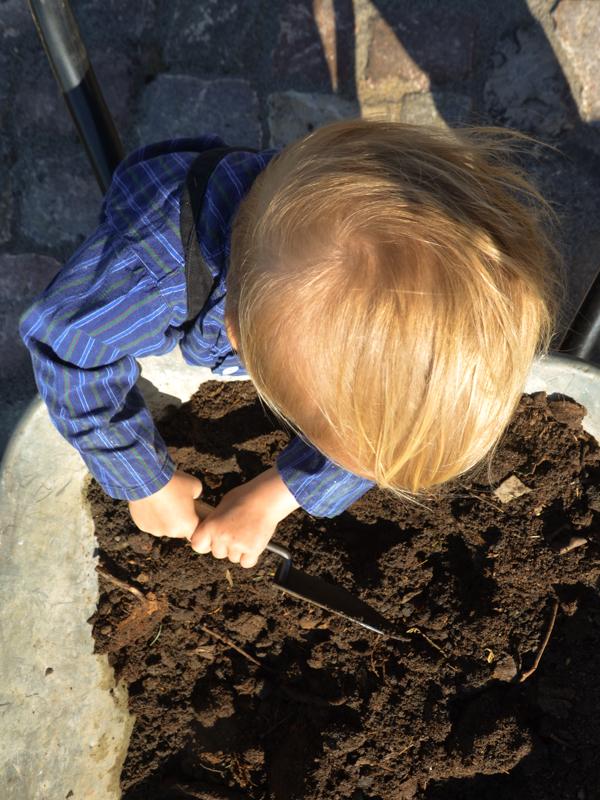 Hochbeet, Gartengeräte für Kinder, 4Betterdays