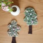 Easypeasy-DIY: Hübsch gewickelte Apfelbäume