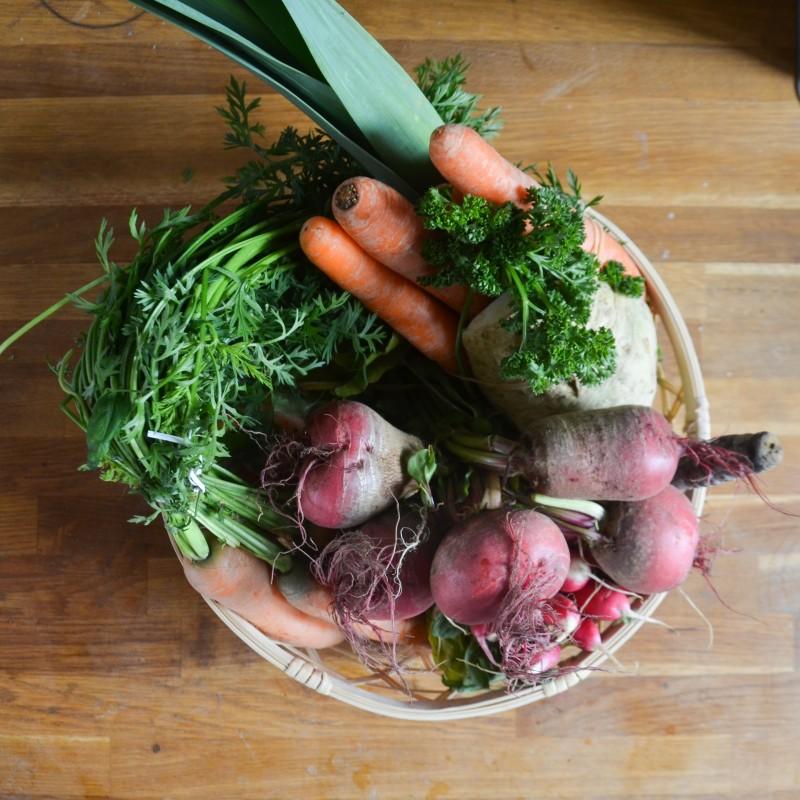 Brühe ohne Zusätze, Gemüsebrühe Frühling, Verde