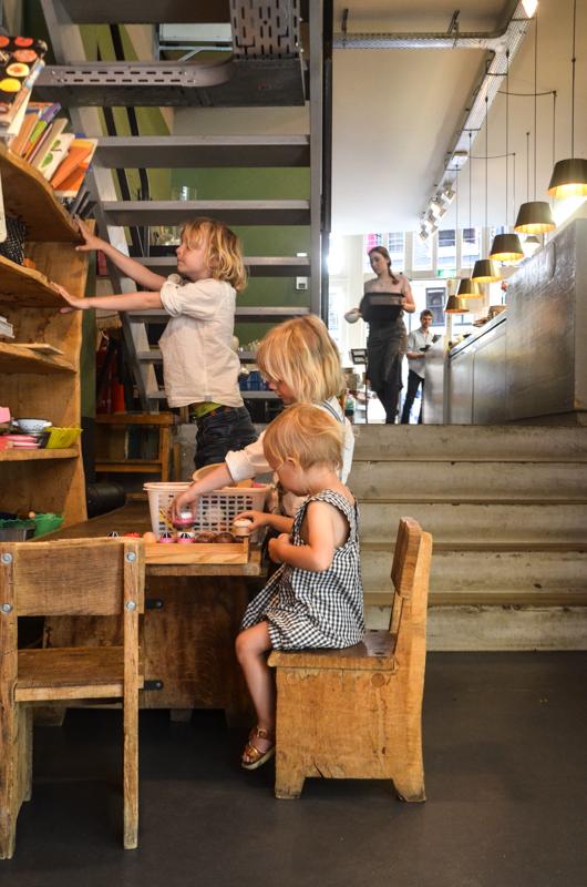 Amsterdam mit Kindern, Frühstücken in Amsterdam mit Kindern