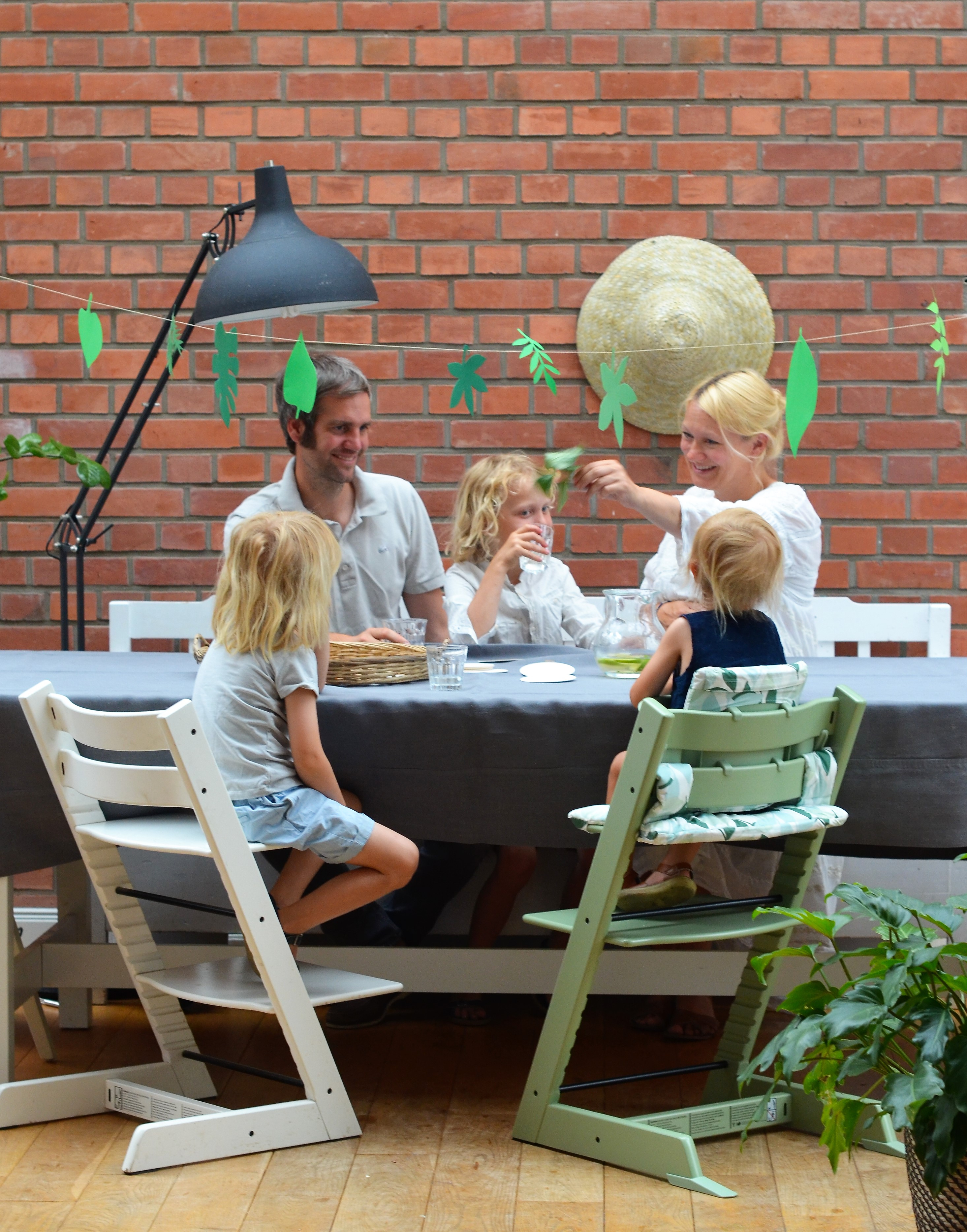 Stokke, Hochstuhl, Familie, Familientisch