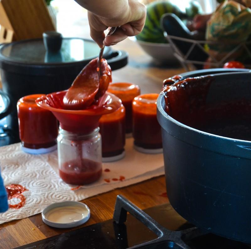Marmelade machen mit Kindern