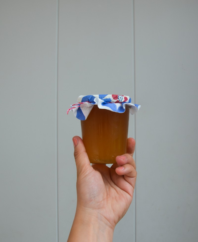 Pfirsich-Vanille-Marmelade