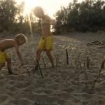 Ein easypeasy Strandspiel für Familien