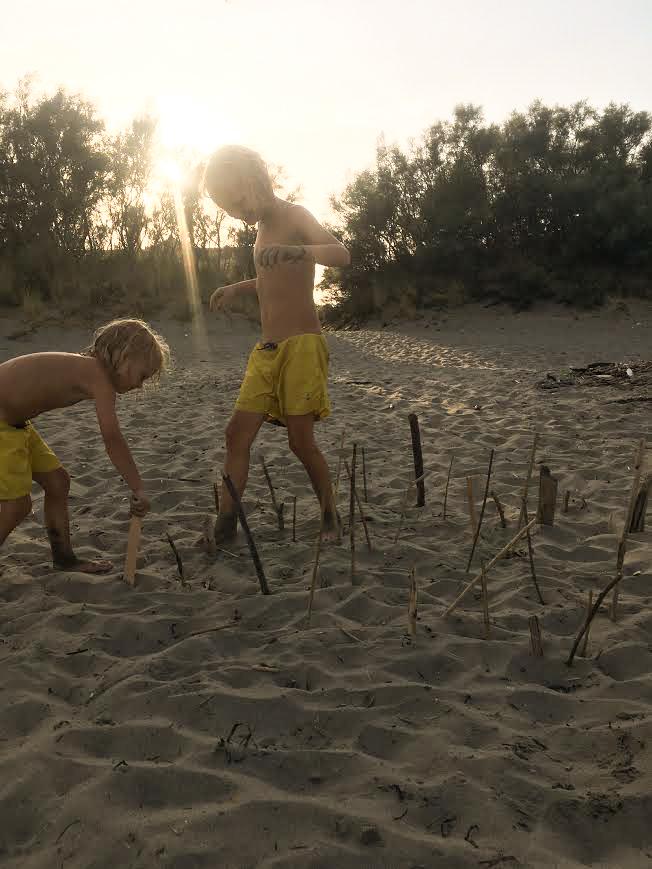 Strand, Urlaubspiel, Spiele für Familien,