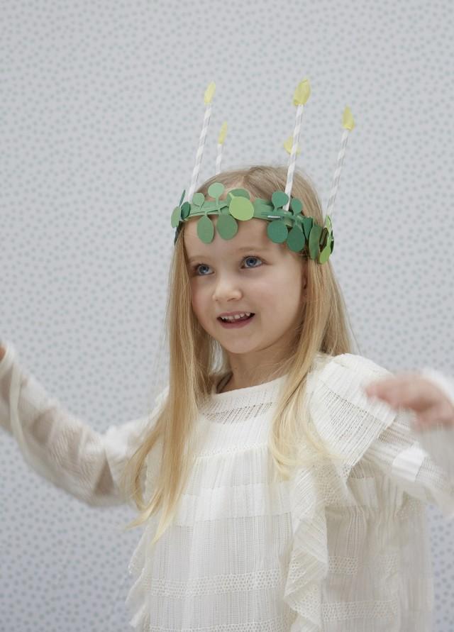 Winter, Weihnachten, Basteln mit Kindern, Lucia Krone,