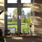 Unser Herbst-Fenster. Plus ein herbstliches Printable für die schöne Jahreszeitenlampe