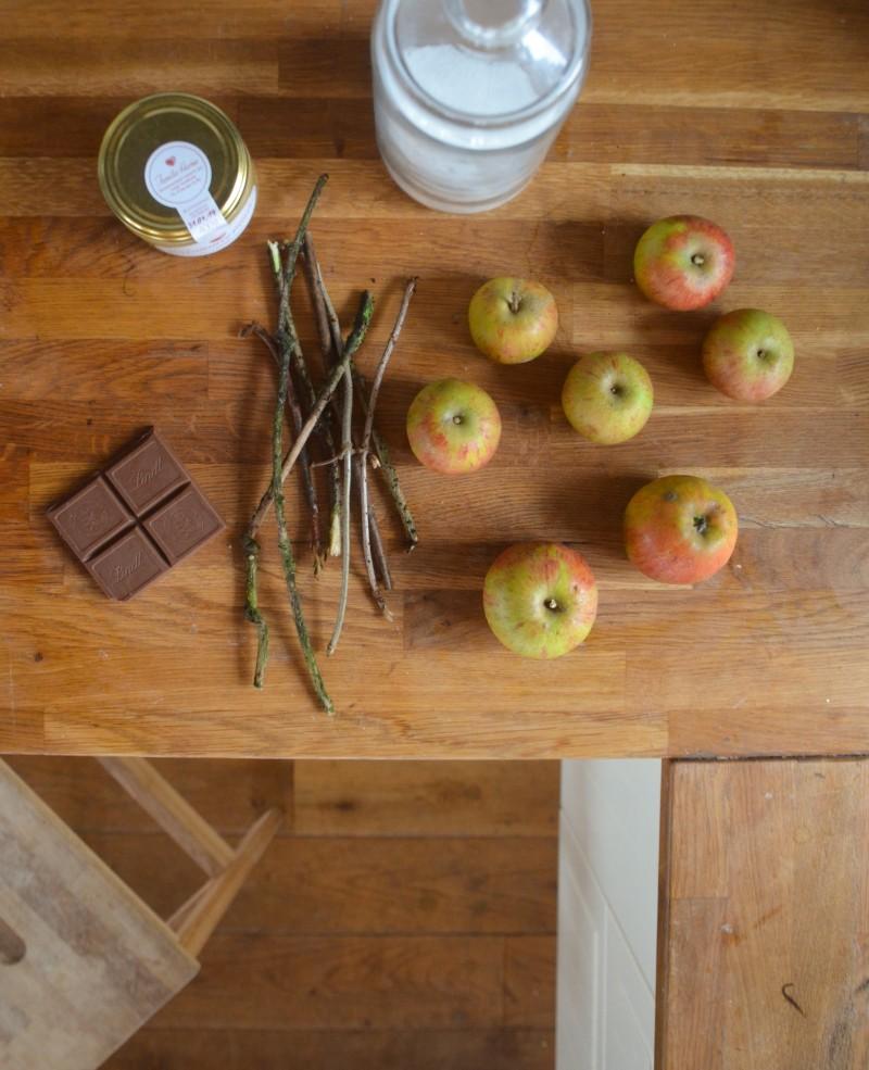 Herbst, Karamel, Karamel Äpfel