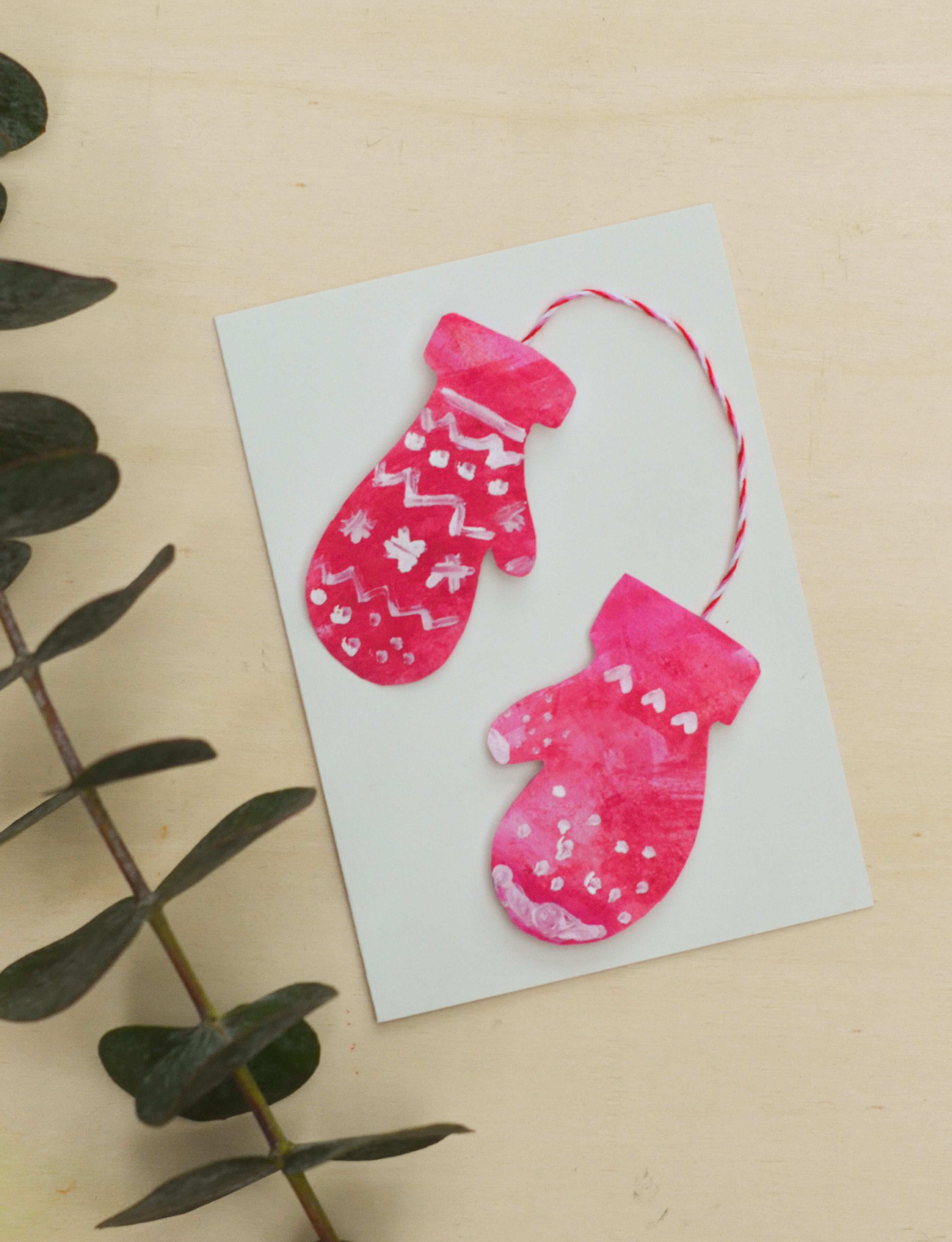 Weihnachtskarten Mit Kindern Machen