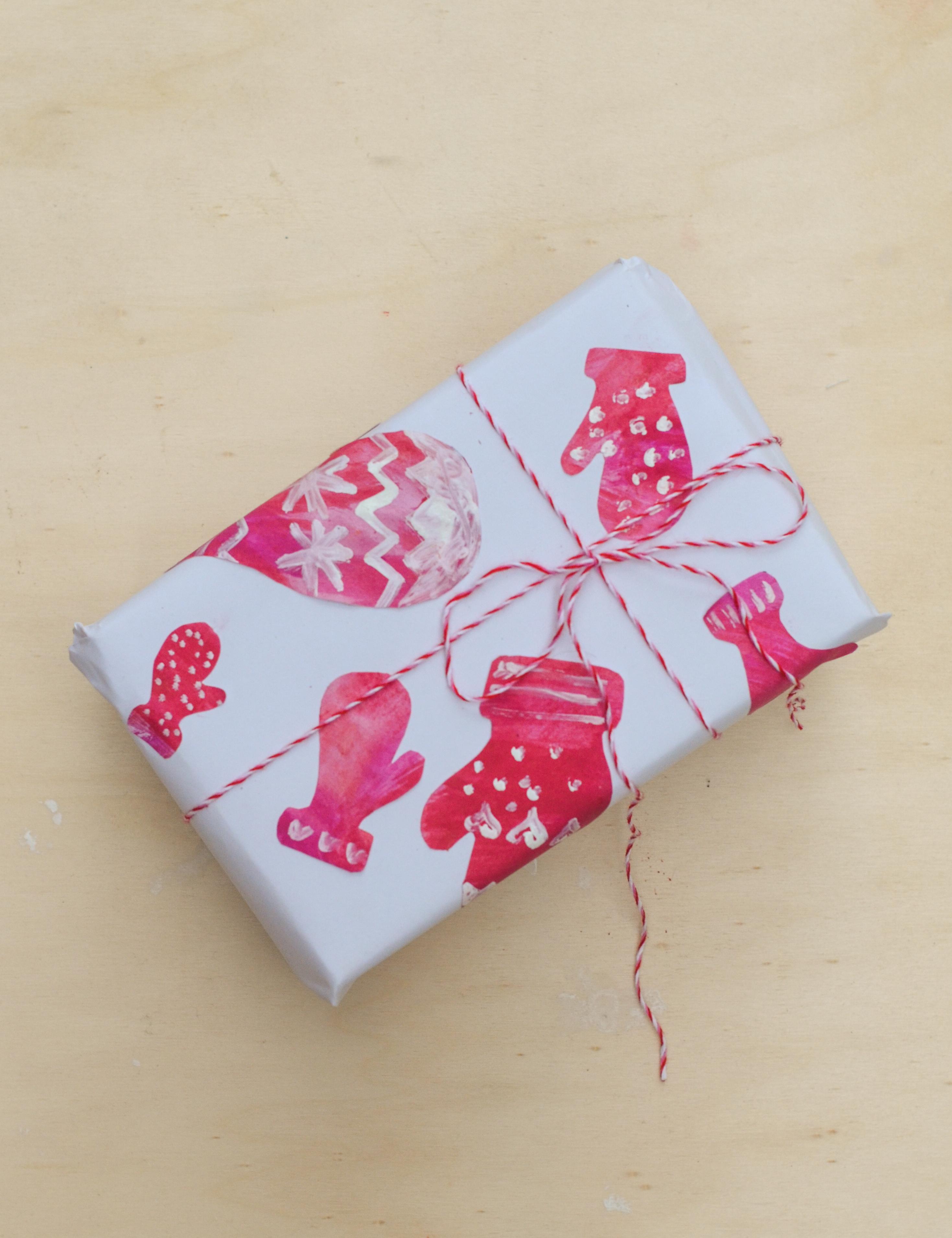 Geschenkpapier Und Weihnachtskarten Mit Norweger Muster Selber