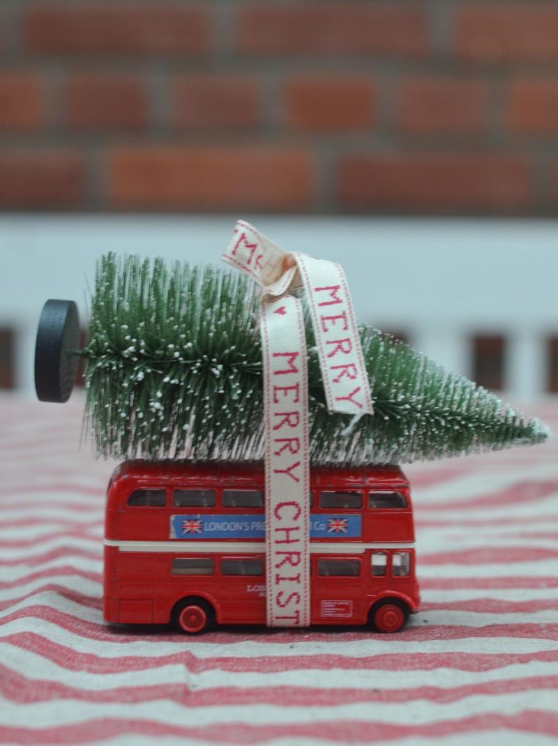 London Bus, Weihnachten mit Kindern feiern