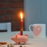 Zuckersüße Weihnachtschwein-Lichter (plus das Weihnachtsgefühl im Fleischklößchenteig)