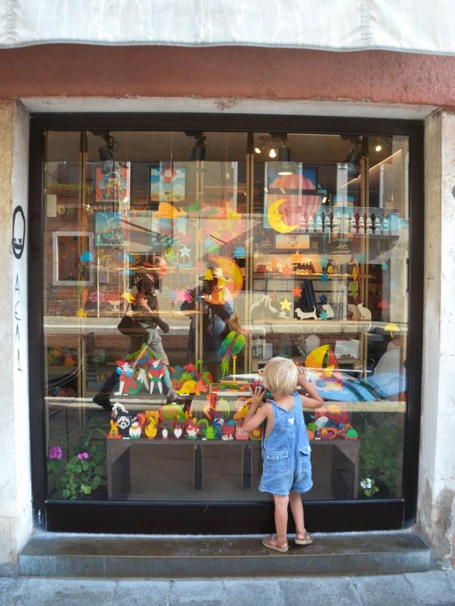 Shoppen, Venedig,