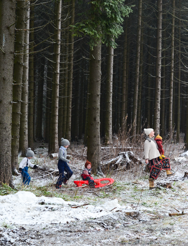 Skiurlaub mit kleinen Kindern