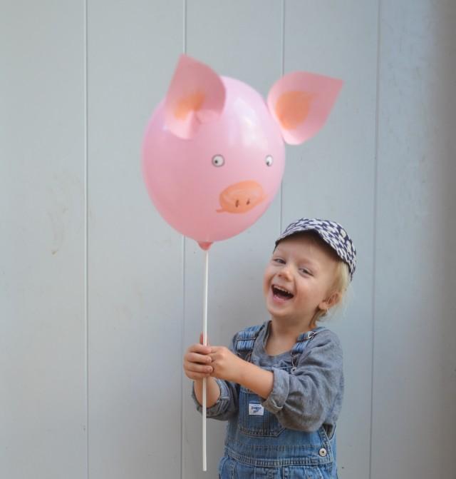 Schwein, dritter Geburtstag