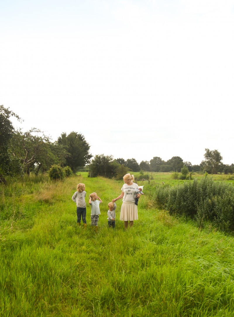 Familiengarten, Gärtnern mit Kindern