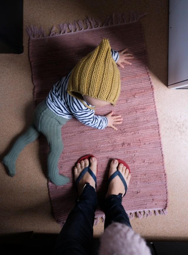 Elternzeit, Wohnwagen Renovierung,