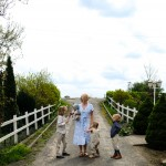 Hübsche Mode für unsere Triple-Taufe im Mai – und für ..