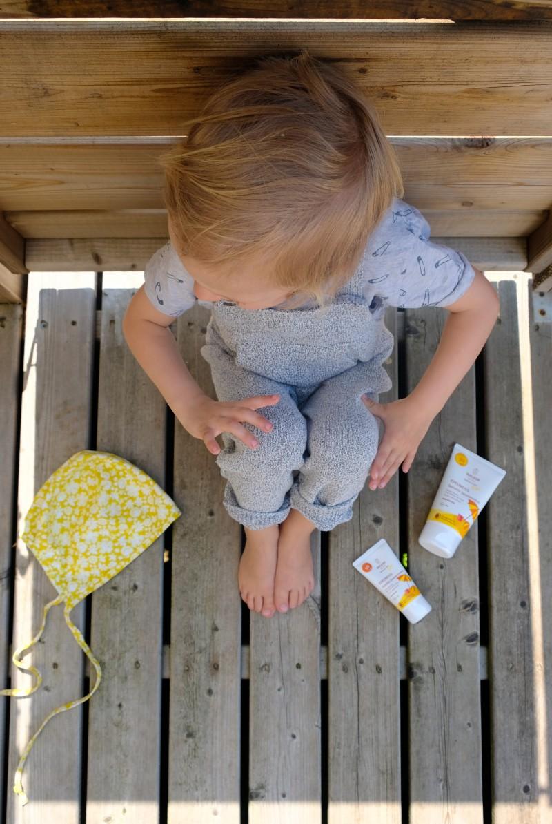 Sonnenpflege für Kinder, Weleda,