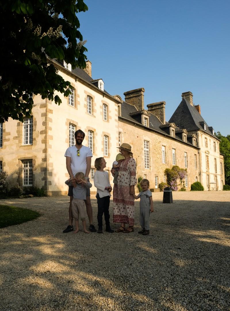Domaine des Ormes, Bretagne mit Kindern