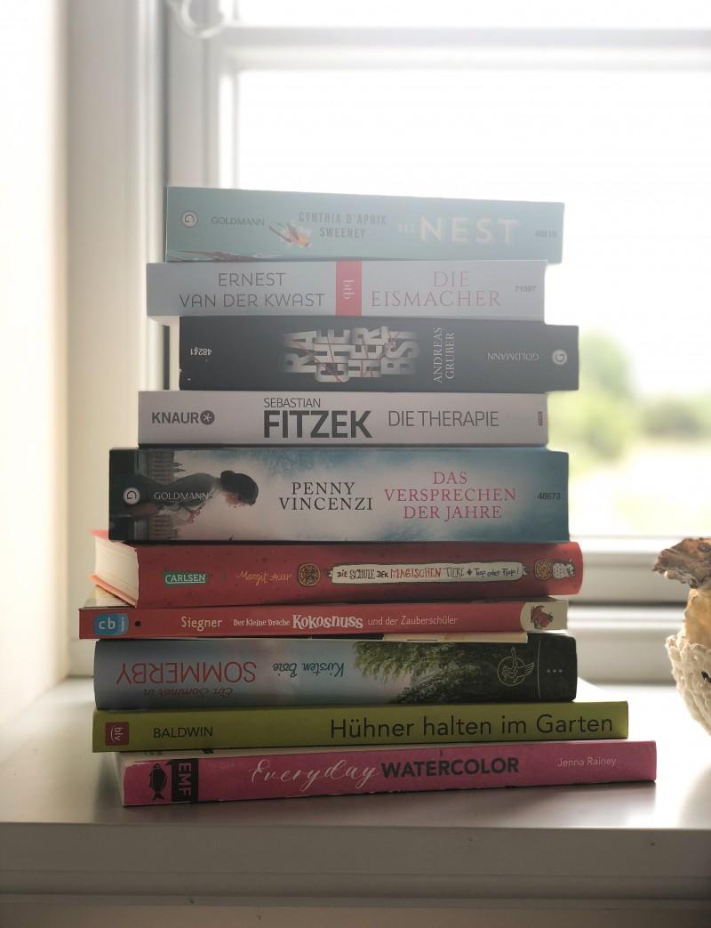 die schönsten Bücher für den Urlaub