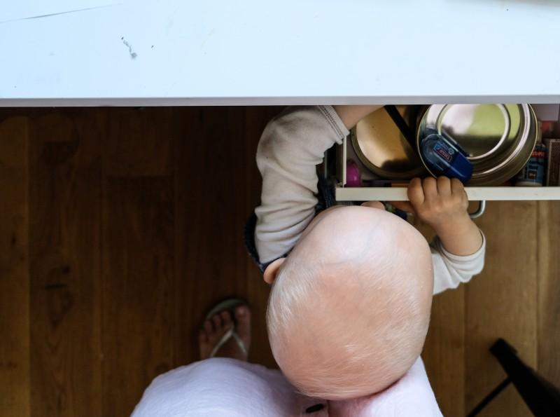 Arbeiten mit Baby, Schwups fährt in die Ferien, Bilderbuch