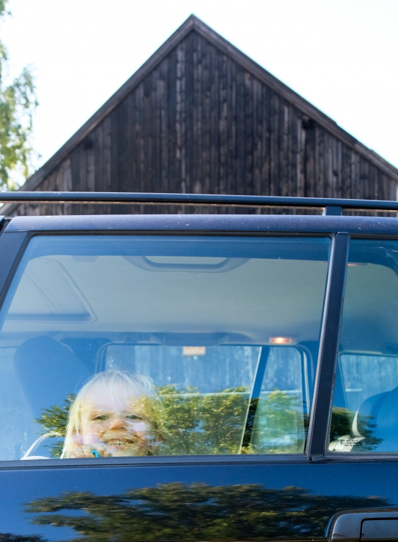 Abschnallschutz, Auto fahren mit Kindern