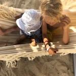 Strand-Olympiade gegen Sand-Langeweile