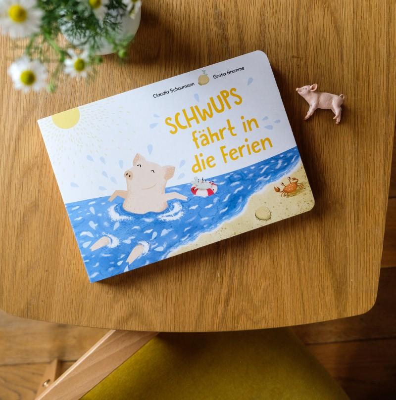 Bilderbuch für den Urlaub, Reisegeschichte für Kinder