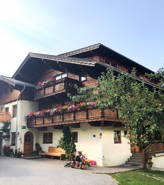 Familie Prommegger, Wandlehenhof, Großarl, Familienburlaub