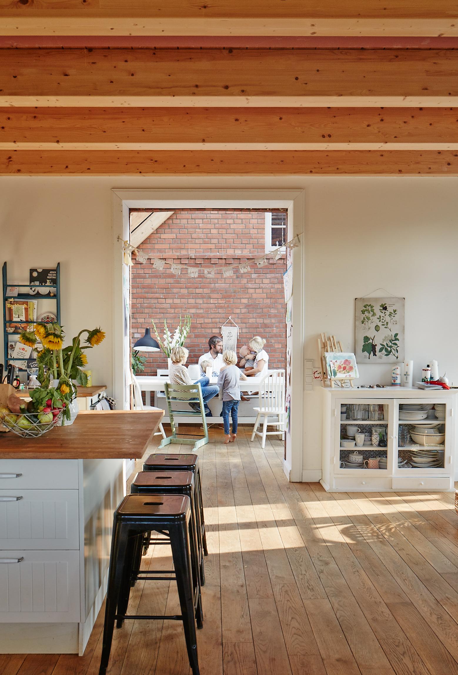 offene Küche, Traumküche, Wintergarten
