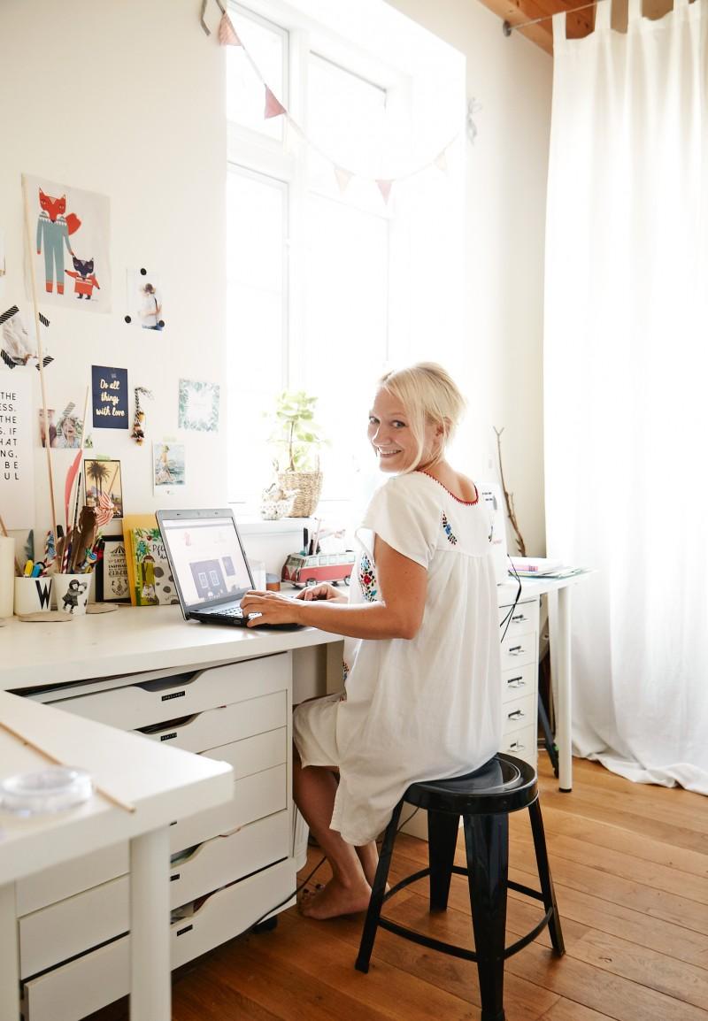 Bloggen von zuhause, Schreiben, Blog schreiben, Arbeitszimmer