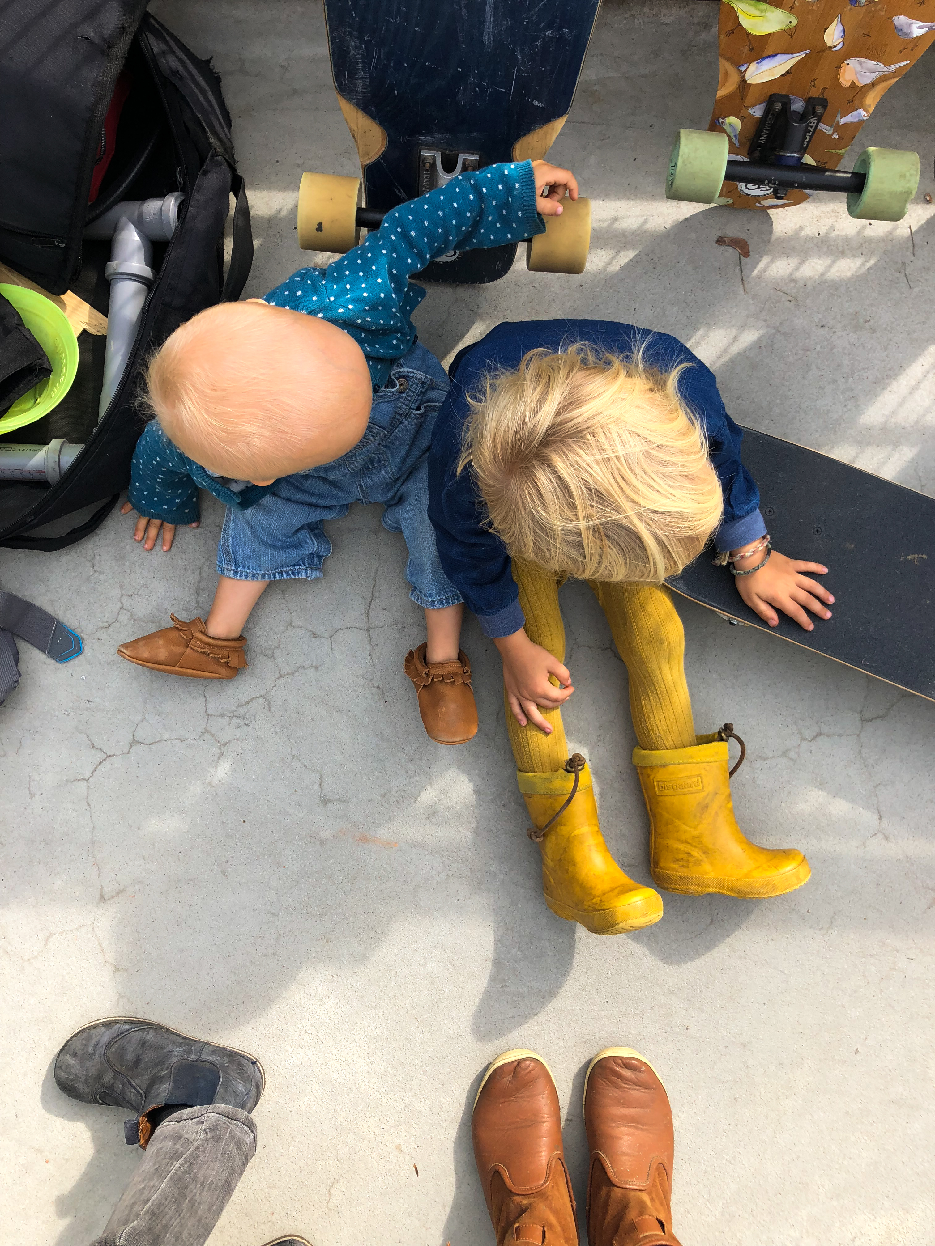 Hamburg, Familie, Skateboard