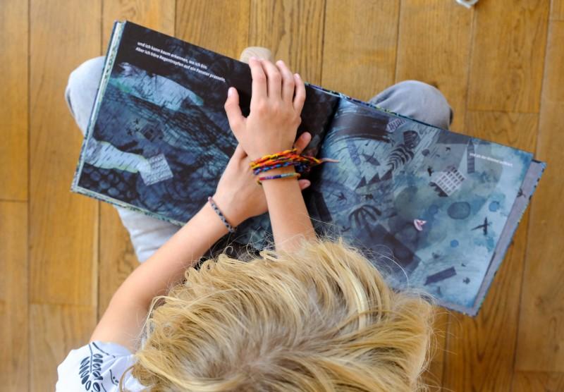 Bilderbuch, Fluss malen mit Kindern, Malen mit Kindern, Lesen mit Kindern