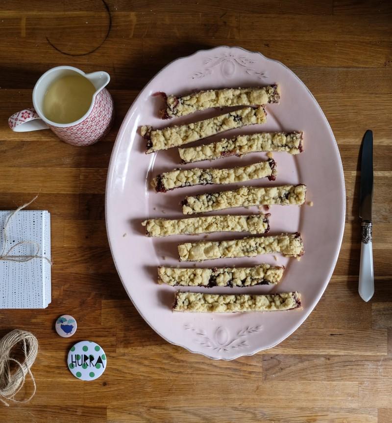 Streuselkuchen, schneller Kuchen, Blitzkuchen,