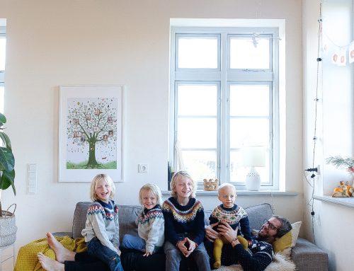 Ein Familienbaum für ganz viel Liebe an der Wand (Eigenwerbung)
