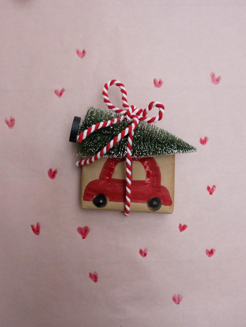 Geschenke verpacken, Weihnachten