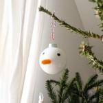 Last-Minute-Schneemann-Kugeln für den Tannenbaum (enthält unbeauftragte Werbung)