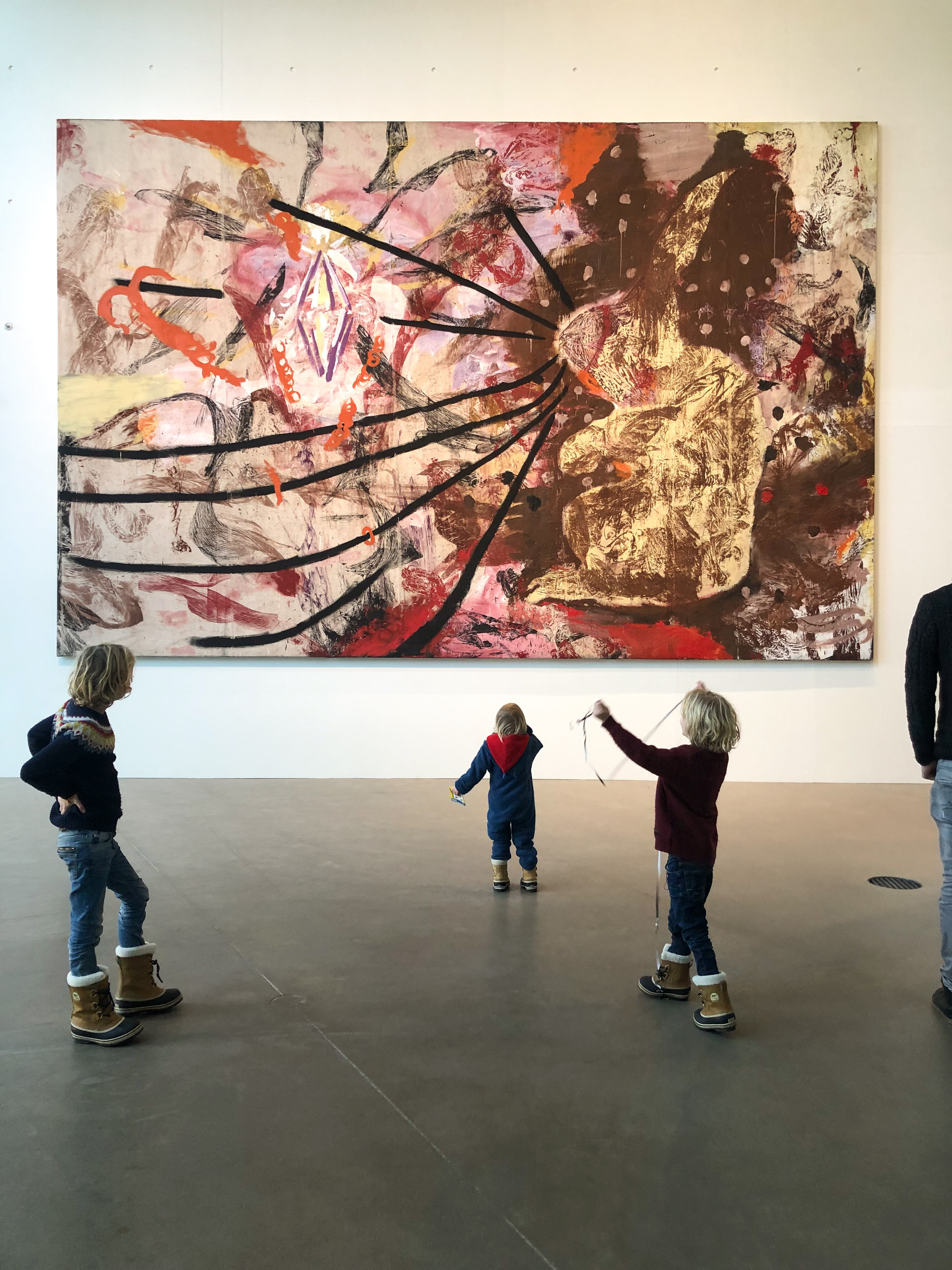 Aarhus mit Kindern, Klatschbilder, Wurfbilder, Kunstmuseum mit Kindern