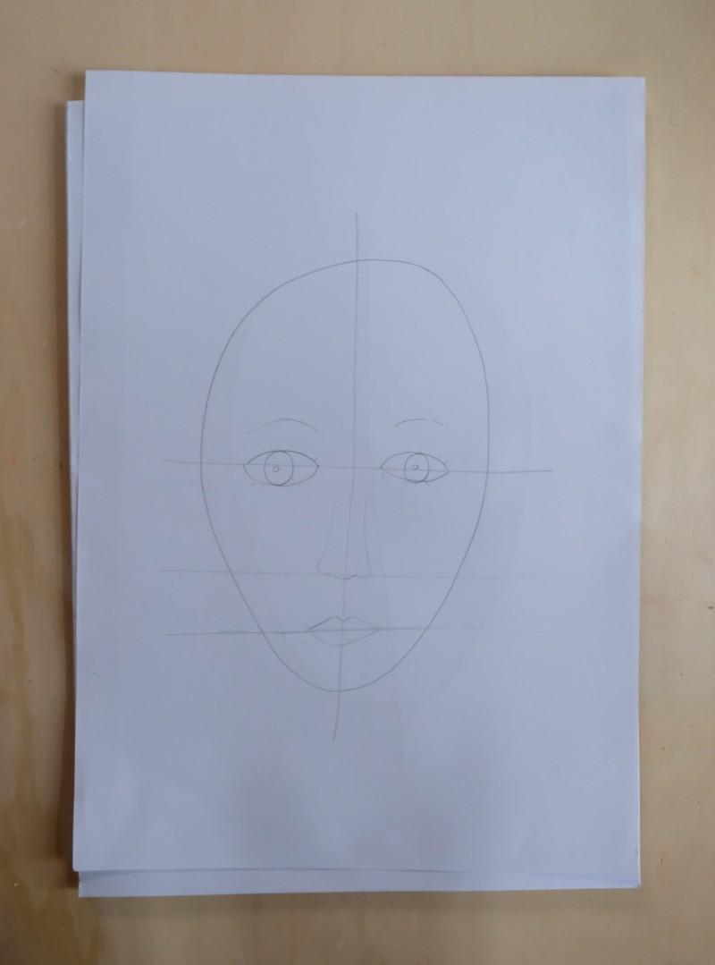So malt man ein Selbstportrait