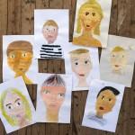Mit Kindern hübsche Selbstportraits zeichnen: Mein easypeasy Crashkurs
