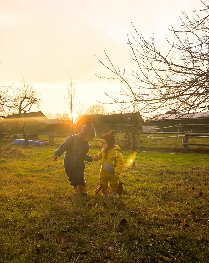 Familienleben, Jahreszeiten, Landleben,