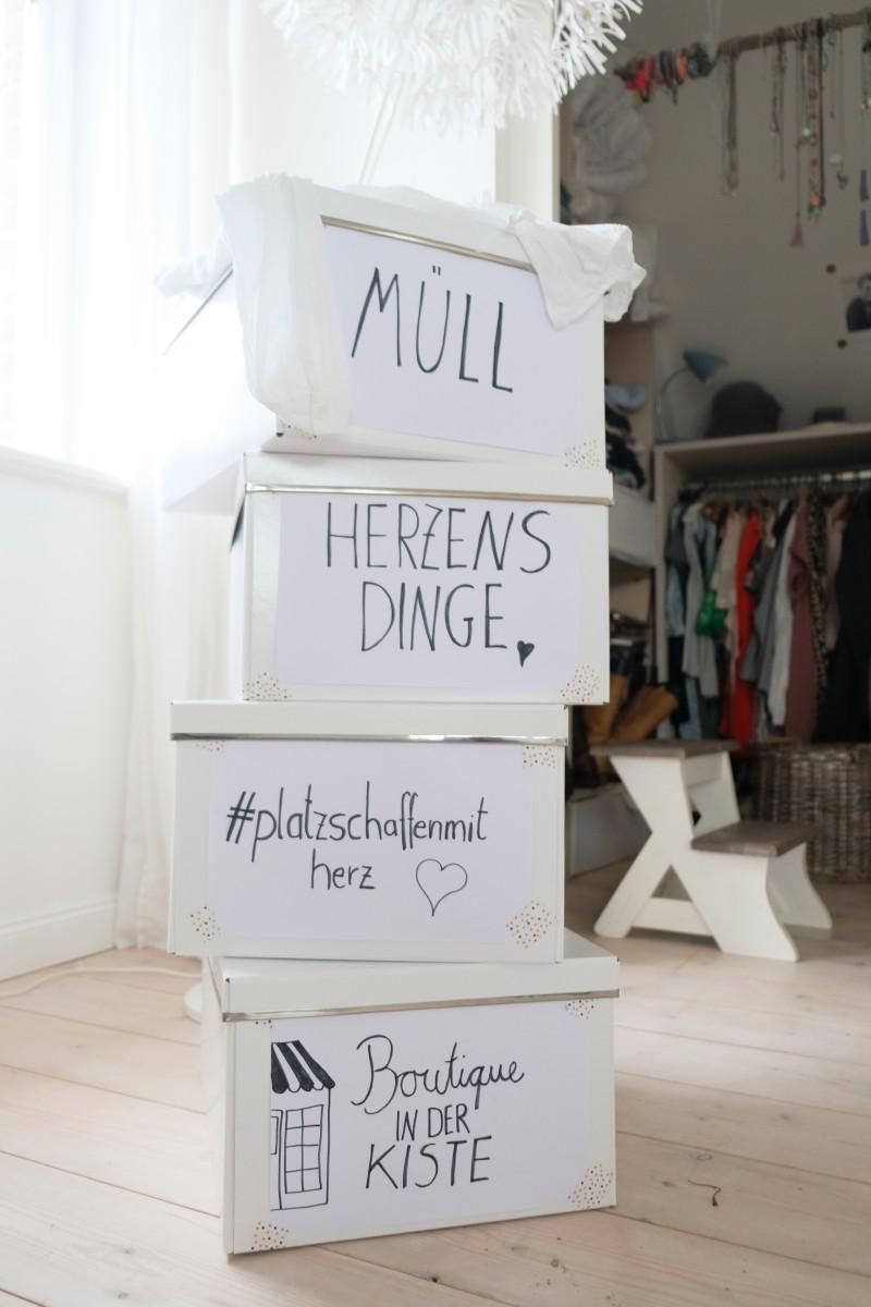 Tipps zum Ausmisten, Aufräumen, gebrauchte Klamotten einschicken
