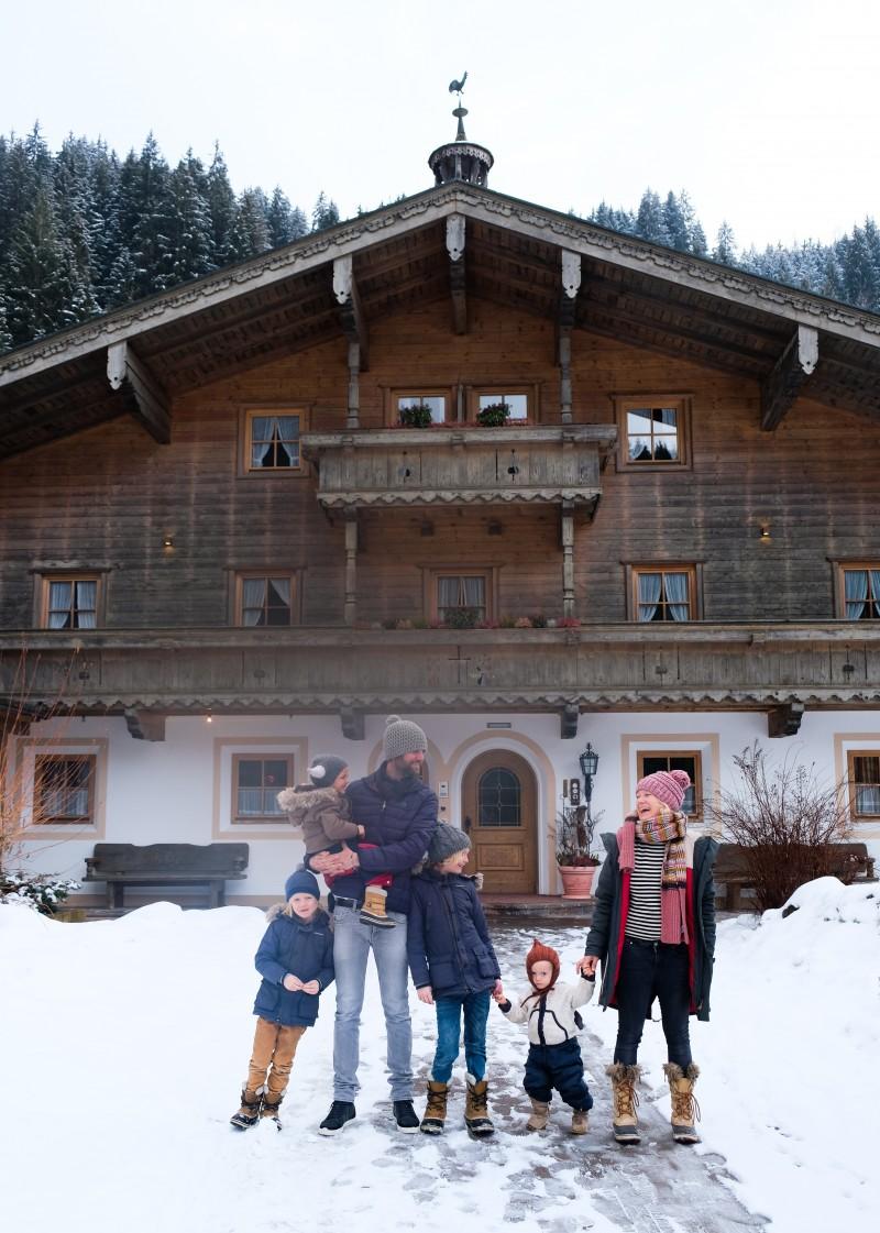Skifahren mir Kindern, schönes Familienhotel Österreich, Wildkogel,