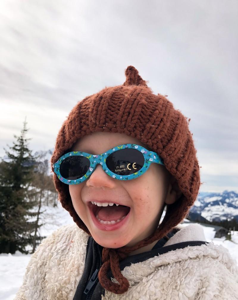 Ski fahren mit Kindern, Loslasslieder,