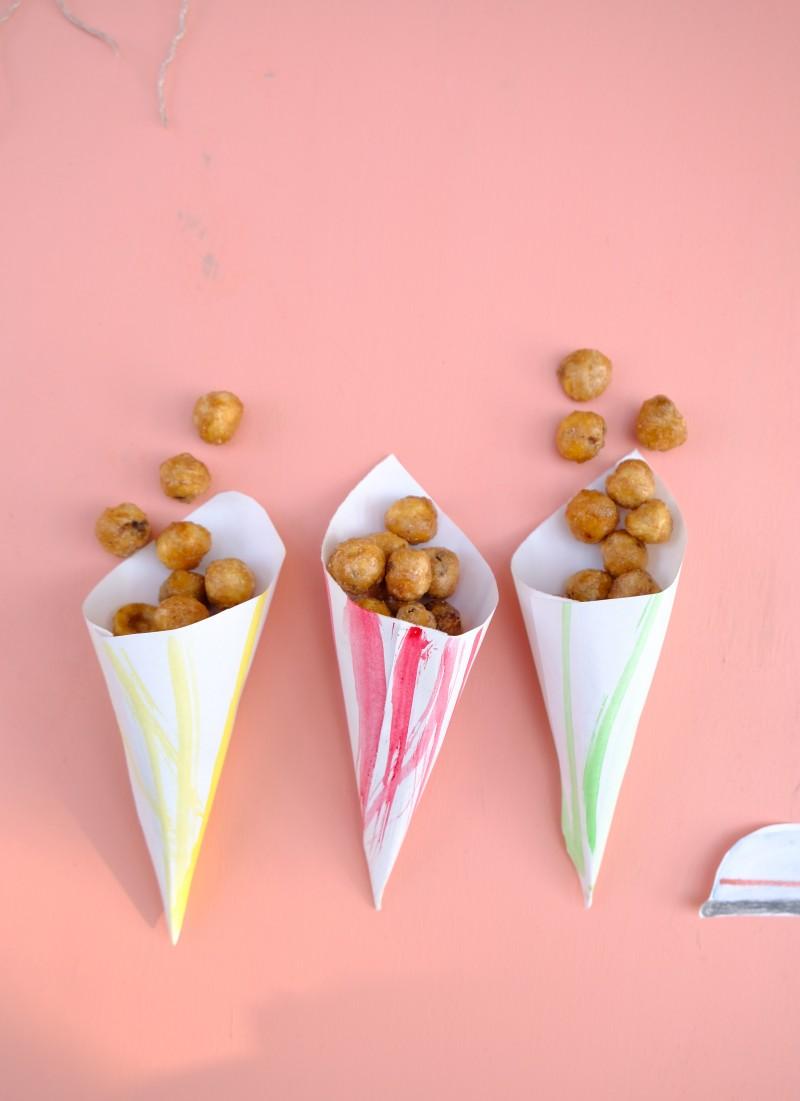 gebrannte Nüsse, karamelisierte Nüsse
