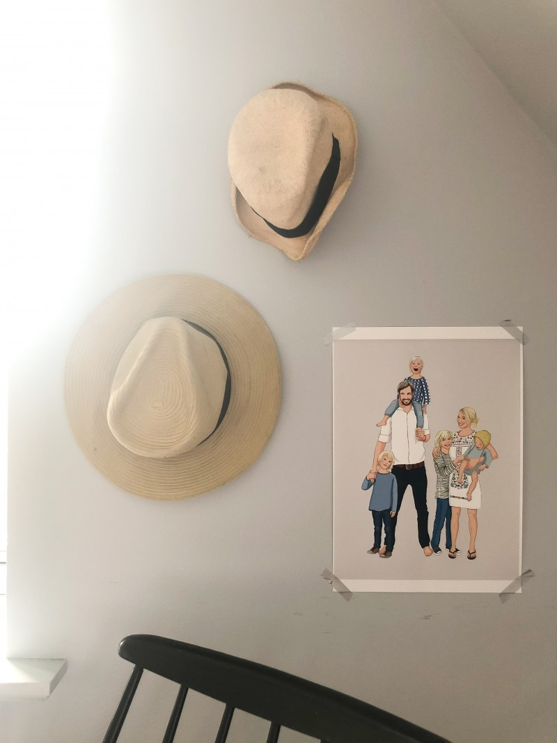 Familie, Wandschmuck, Familienportrait