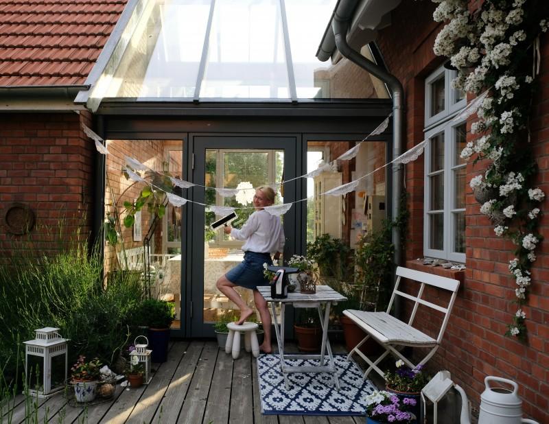 Fenster putzen, Fenster wischer, Bosch